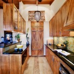 Mango Wood Kitchen with Bookmatched Door Panels