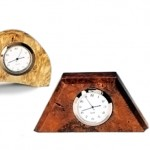Small Desk Clocks Various Species and Sizes Available for Sale